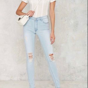 RES denim  Kitty  distresses skinny jeans